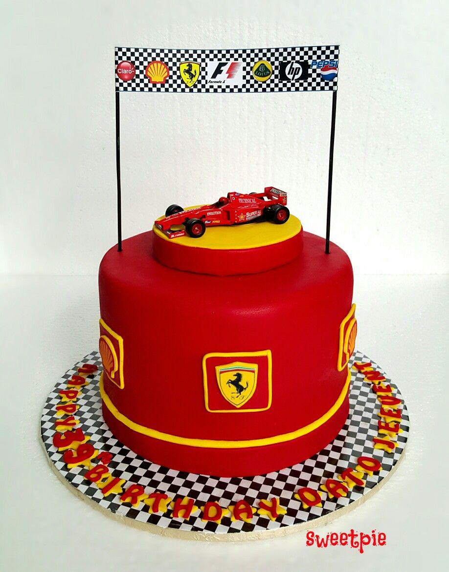 Ferrari cake sweetpie pinterest ferrari cake cake and cake ferrari cake baditri Gallery