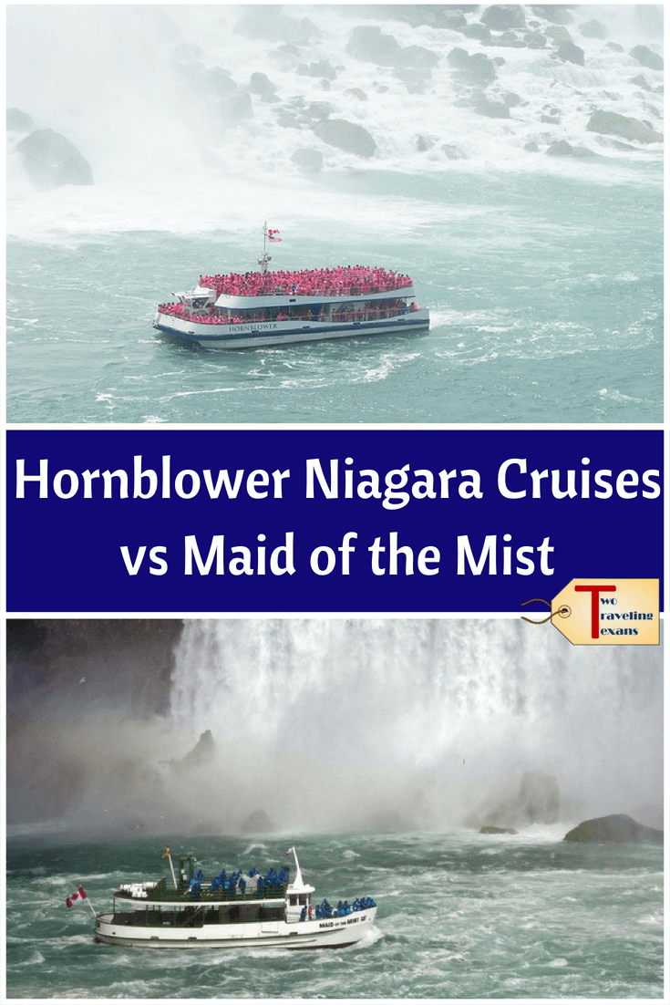 Hornblower Niagara Cruises Vs Maid Of The Mist Niagra Falls Vacation Niagara Falls Boat Niagara Falls Vacation