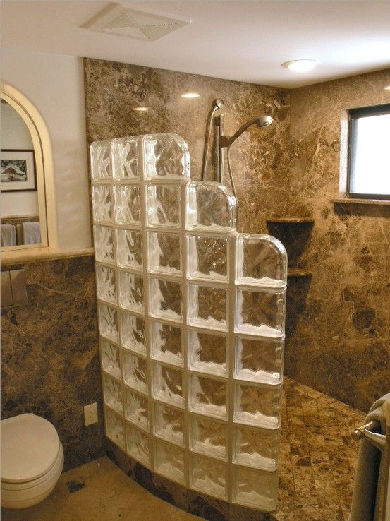 Doorless Shower Designs Teach You How To Go With The Flow Idee Salle De Bain Renovation Salle De Bain Douche Bloc De Verre