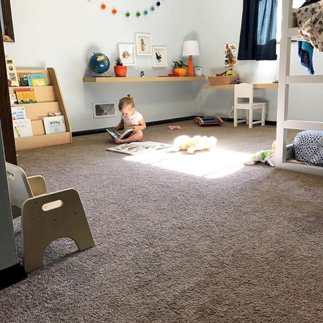 55 Best Boys Rooms Images On Pinterest: 55 Best Montessori Bedroom Design For Happy Kids 0037