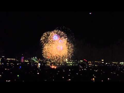 Awesome 4th of July Fireworks finale in Boston!