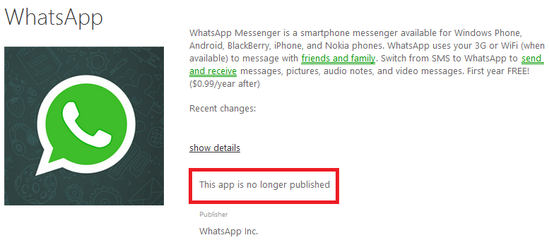 Technology2014: WhatsApp missing from Windows Phone Store | Windows phone, Phone store, Phone