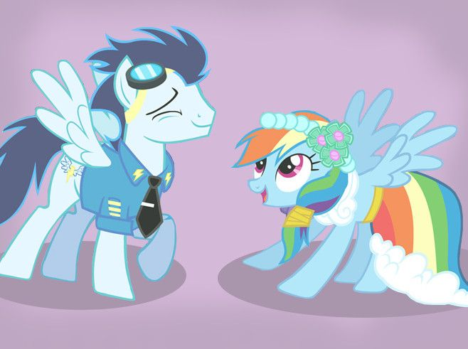 Soarin and Rainbow Dash by sparkle-bubba on DeviantArt ...