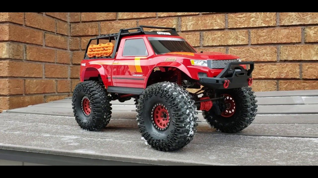 Traxxas trx4 Sport with Long Arm lift Kit installed part