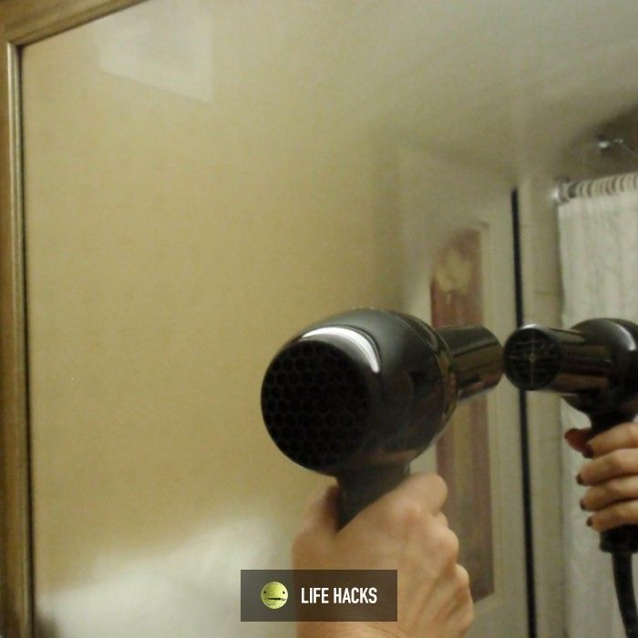 How to defog a bathroom mirror Tips Tricks Hacks Ideas