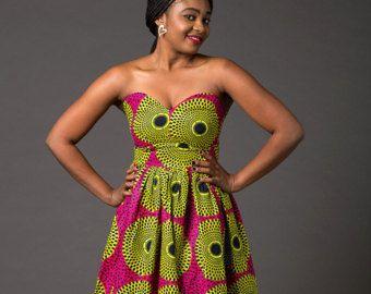 13cebc021ca4 African clothing African romper Ankara romper african by Laviye ...