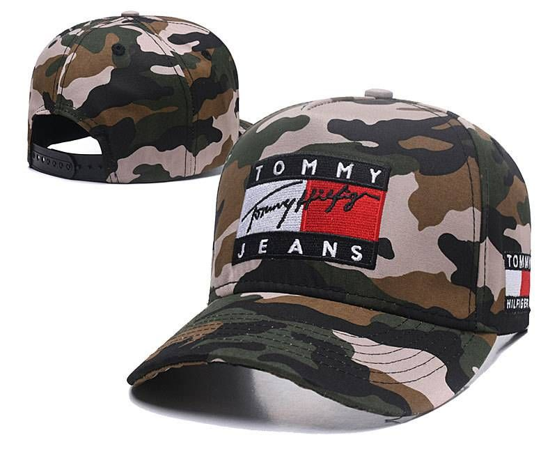 bd4831c898e Tommy Hilfiger Jeans Caps Hats Camo 008