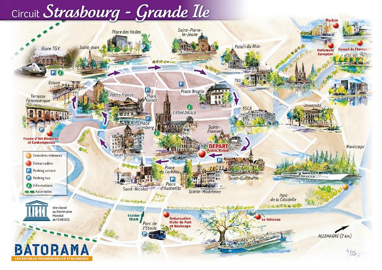BATORAMA river boat tour Strasbourg France Strasbourg Grande