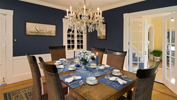 Best Navy Dining Room French Doors Into Living Room Dining 400 x 300