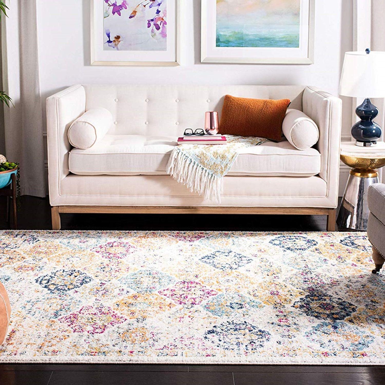 Chic fuzzy modern luxury farmhouse pattern bohemian