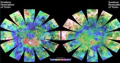Venus Hemispherical Globes