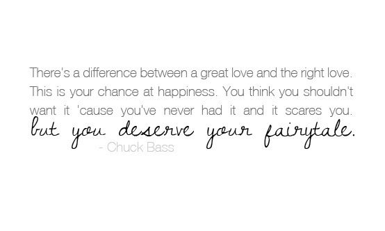 There's A Difference Between A Great Love And The Right