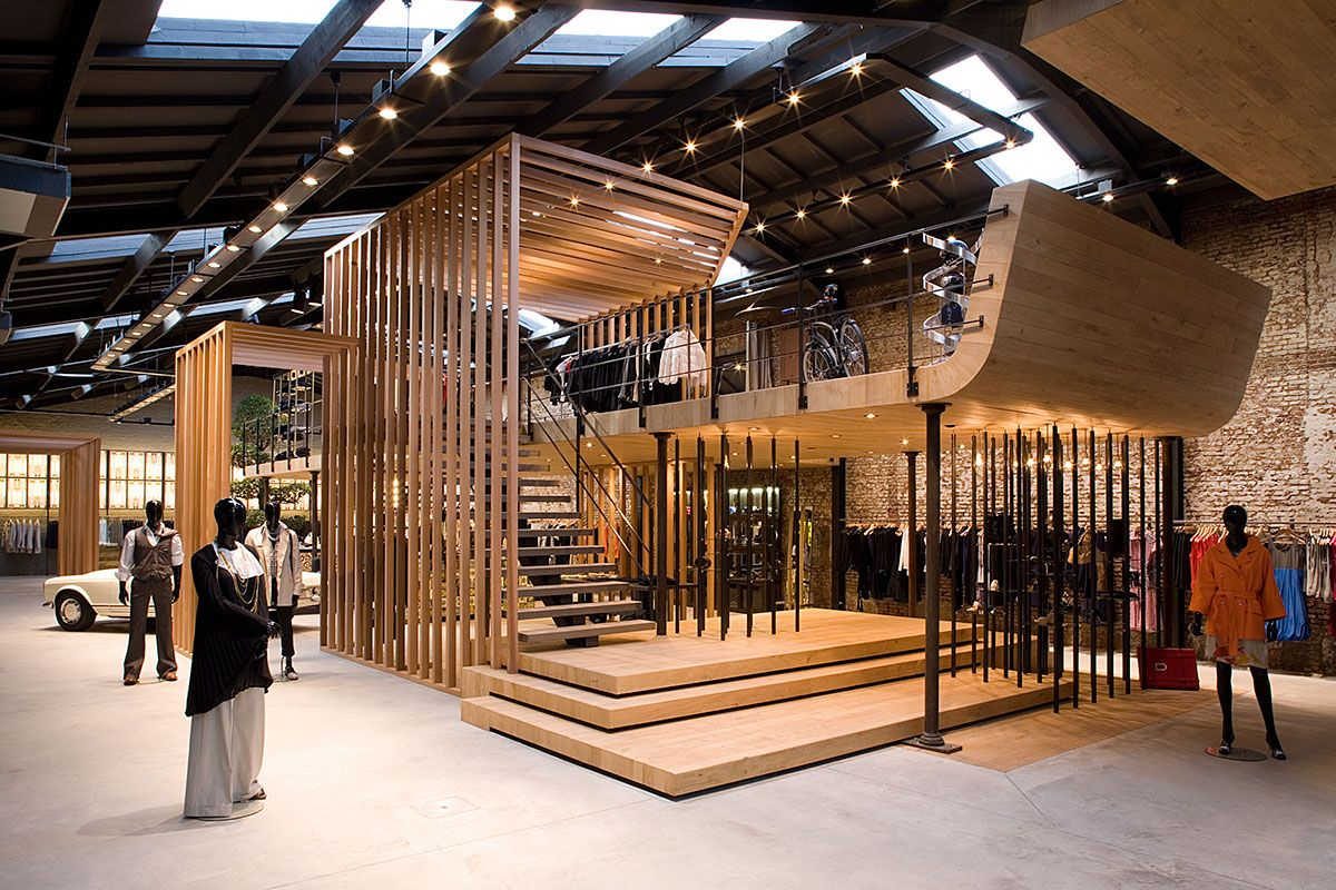 Hospital Concept Store Behance Retail Design