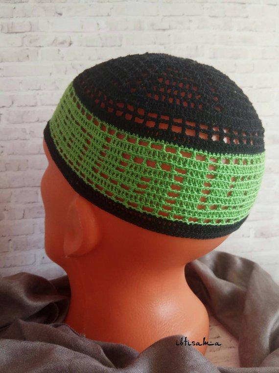 4147c1a91 Kufi hat Caps Muslim prayer cap Cotton kufi cap African hat Mens hat ...