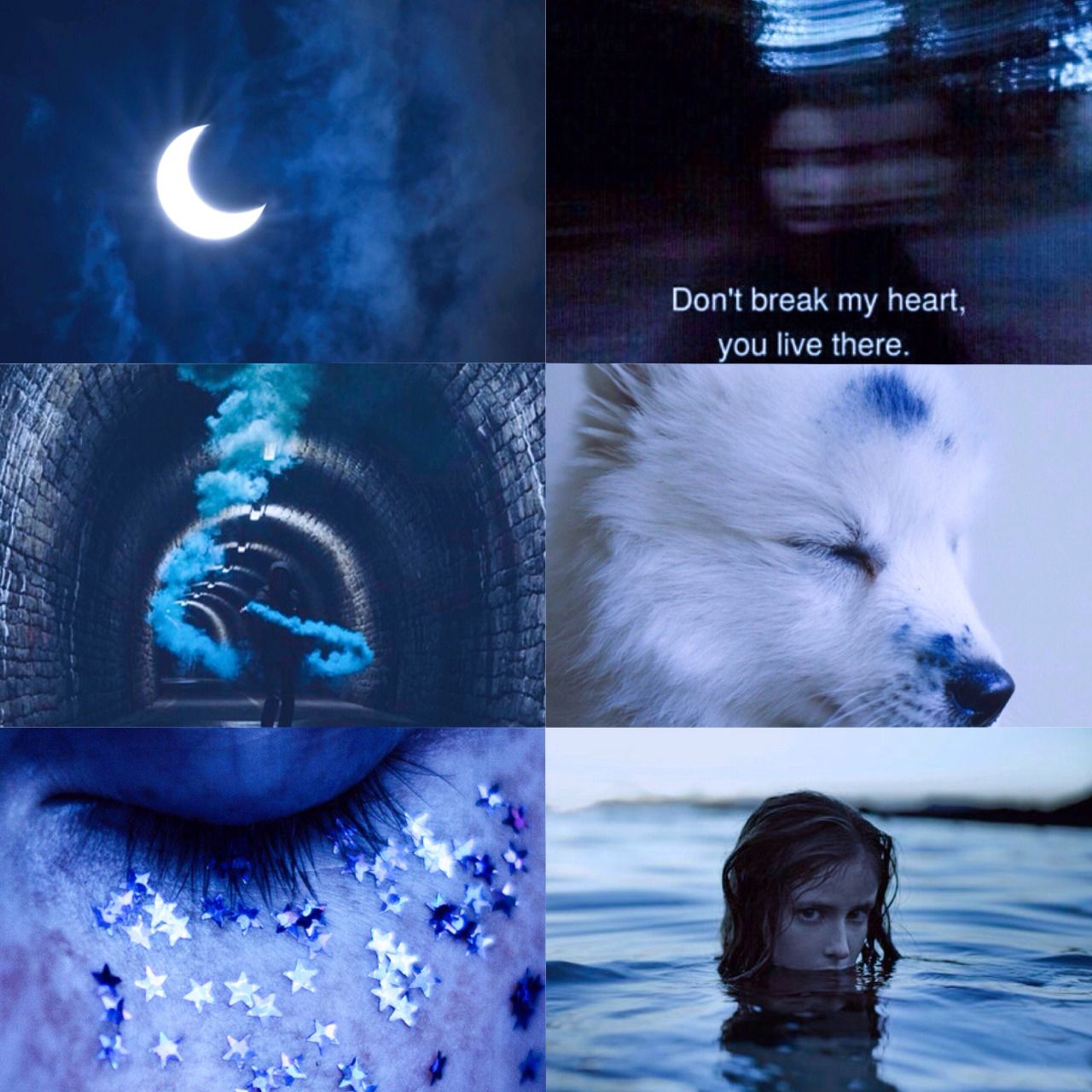 "Harry Potter Aesthetic: Electric Blue Ravenclaw ""Everything is blue ..."