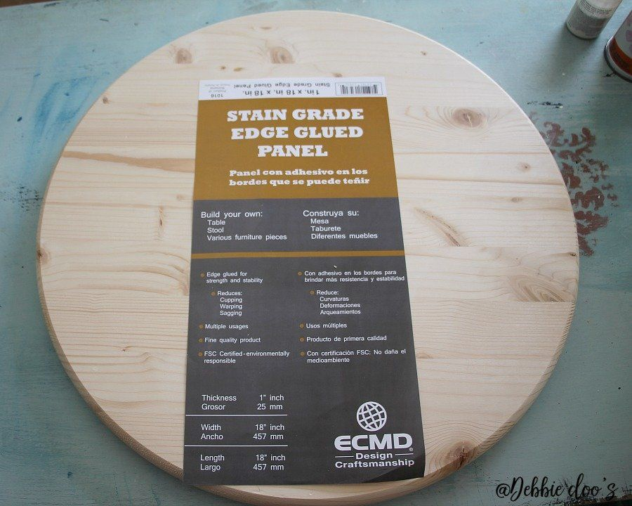 How To Make Your Own Lazy Susan For The Home Pinterest Diy