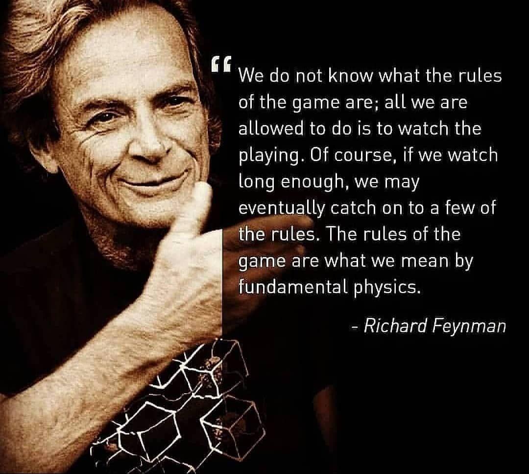 Technology And Physics On Instagram Physics Cosmos Feynman Cern Space Phy Quantummechanics Nasa Quotes Quote Quantum Mechanics Physics Technology