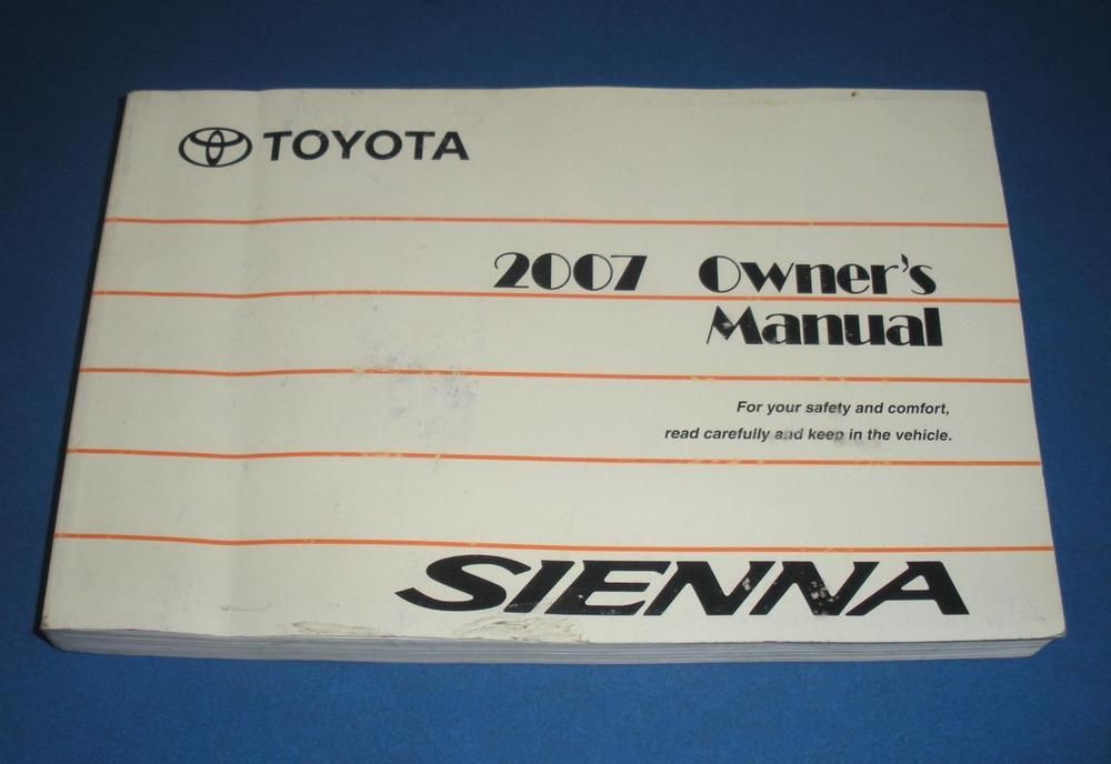 2007 toyota sienna owners manual book guide owners manuals pinterest rh pinterest co uk 2005 toyota sienna owners manual pdf 2004 toyota sienna owners manual pdf
