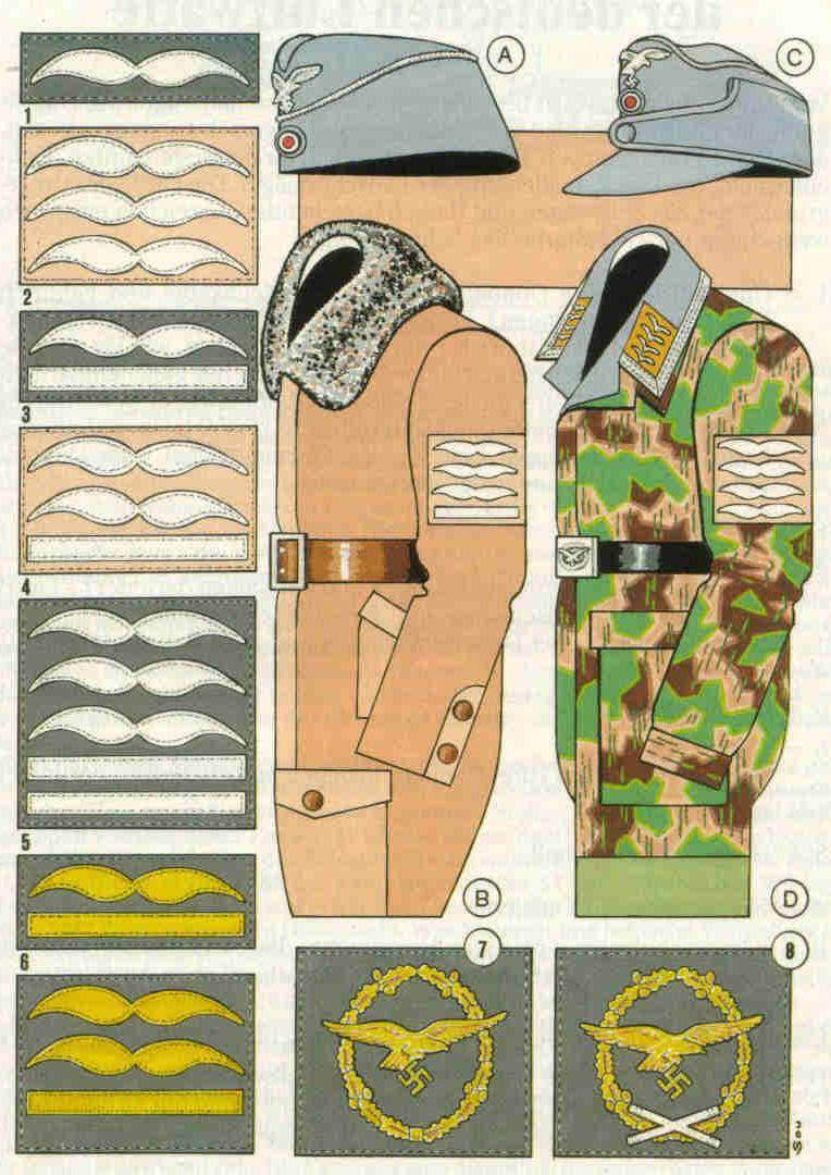 Tafel3 Deutsche Uniformen Abzeichen Und Ns Zeit