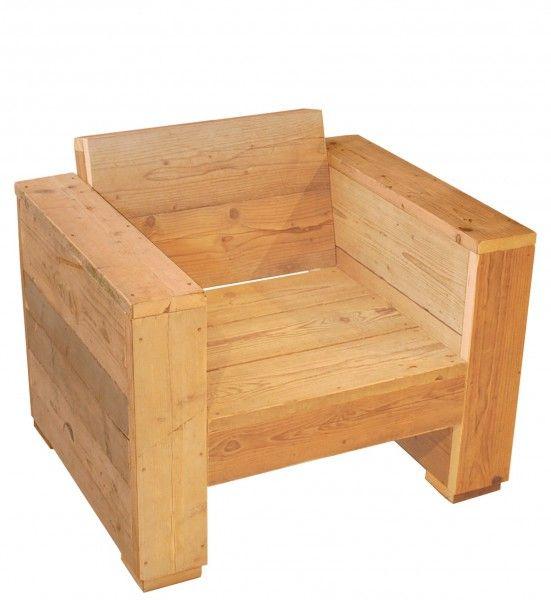 Sessel aus Altholz NICLAS