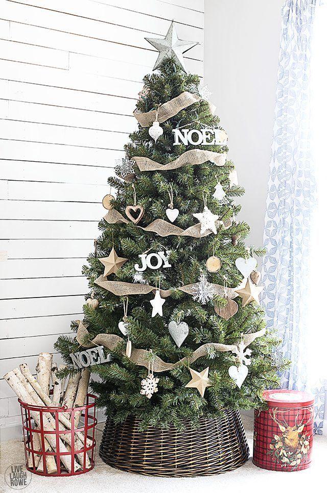 Woodland Christmas Home Tour -   17 christmas tree inspiration simple ideas