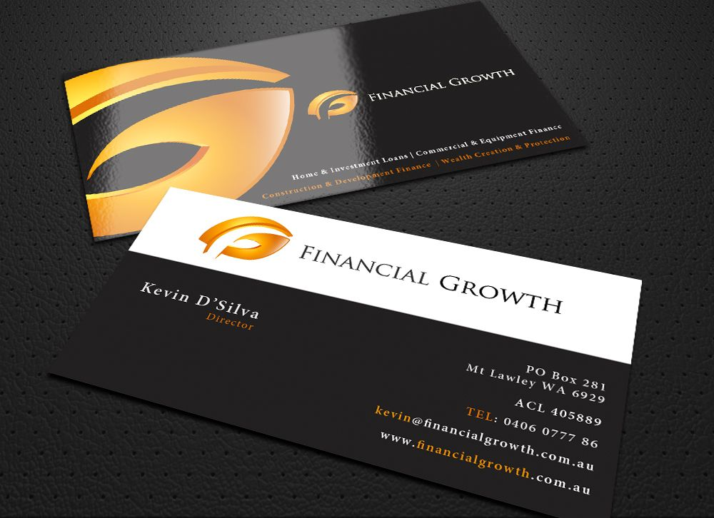 30 Finance Business Card Designs Inspiration   Books Worth Reading ...