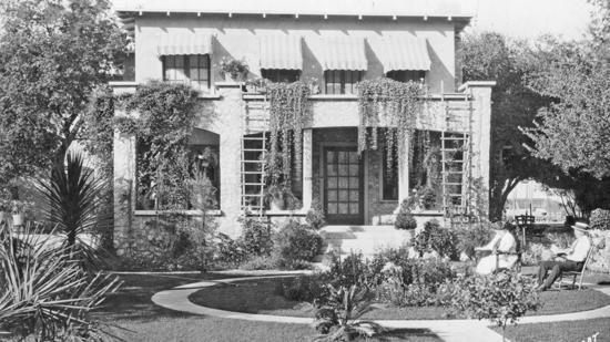 Original structure at Rockhaven Sanitarium