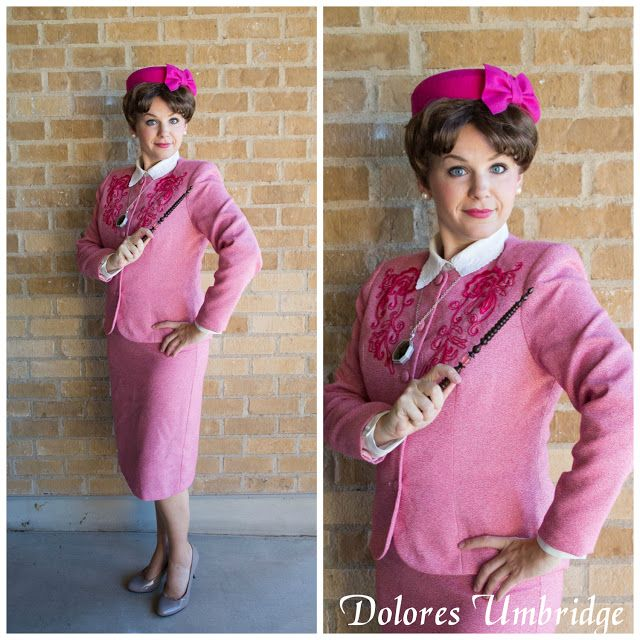 Harry Potter Costume Ideas Delicious Reads Dolores Umbridge Costume Harry Potter Party Costume Harry Potter Costume Harry Potter Costume Diy
