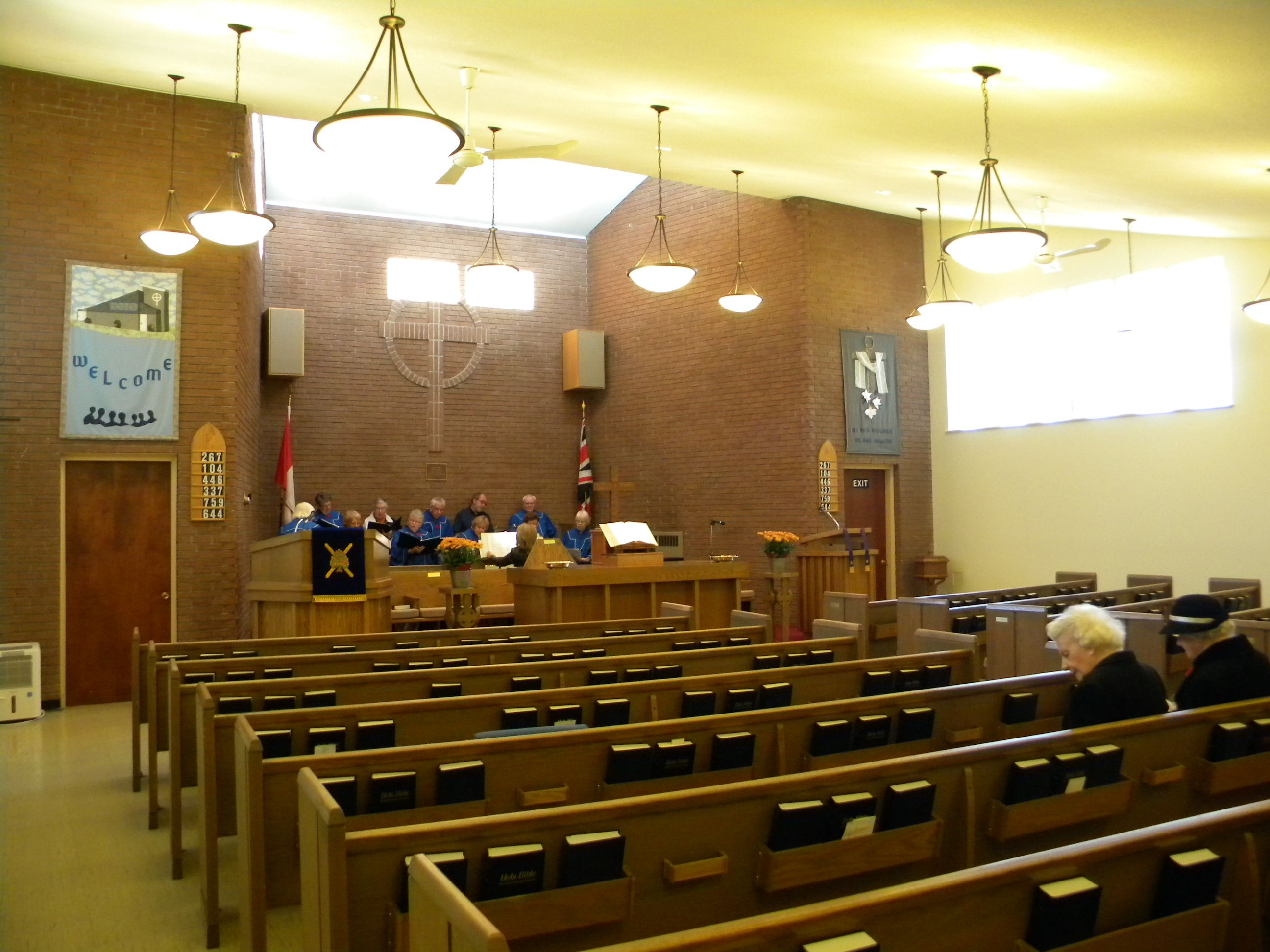 Church Sanctuary Lighting
