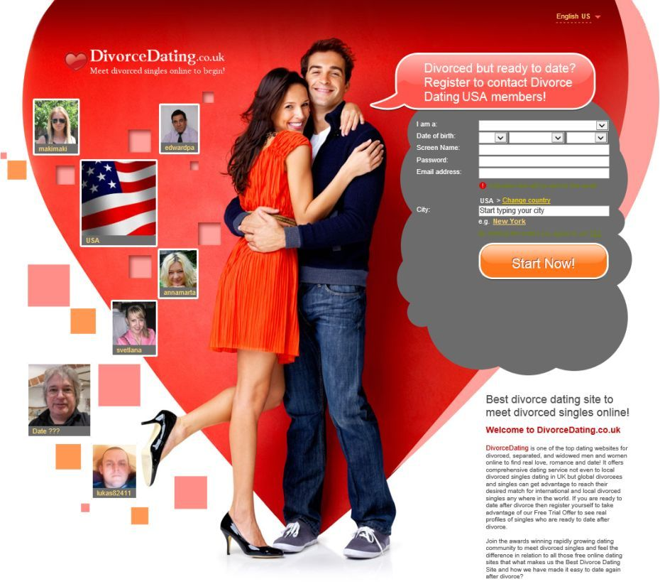 Free online divorce dating site