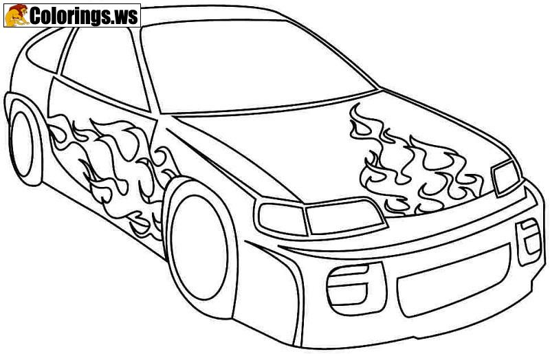 Race Car Coloring Page Car Coloring Pages All Cars Must Race In This Coloring Page You C Cars Coloring Pages Race Car Coloring Pages Truck Coloring Pages