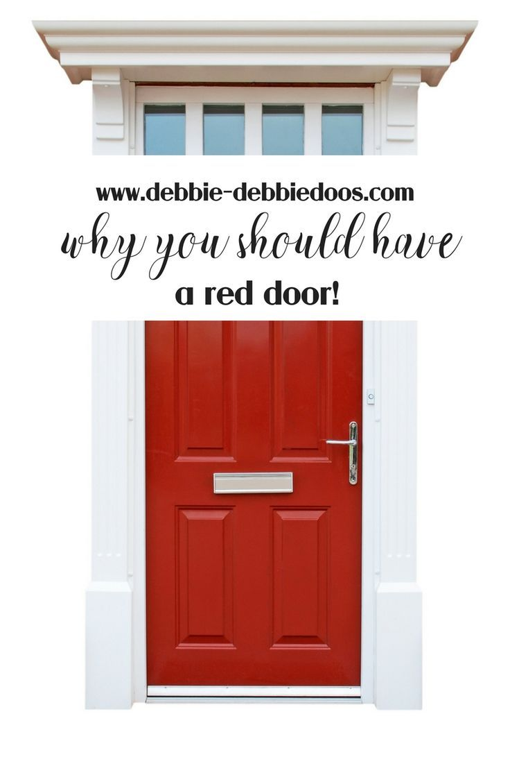 What Does Garage Mean: What Does Having A Red Door Mean