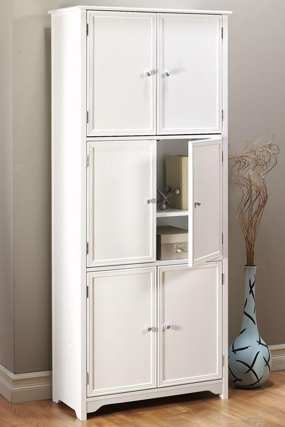 Oxford 6 Door Storage Cabinet Cabinets Living Room Furniture Furniture Homedecorato White Storage Cabinets Home Storage Cabinets Large Storage Cabinets #white #living #room #storage #cabinets