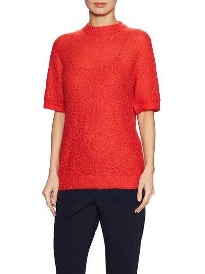 Prada Ribbed Crewneck Sweater