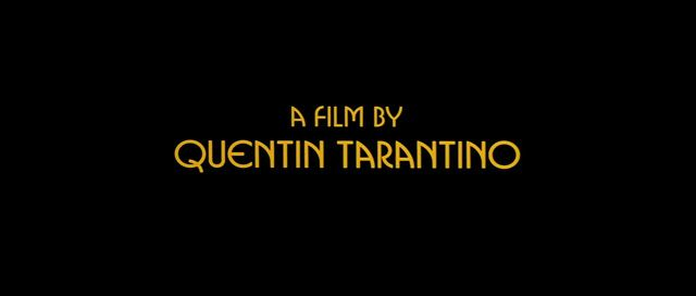 Pulp Fiction 1994 Quentin Tarantino Opening Credits