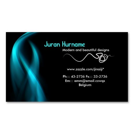 blue smoke business card. This great business card design is available for customization. All text style, colors, sizes can be modified to fit your needs. Just click the image to learn more!