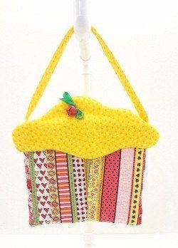 CupCake Purse small purse cloth purse fabric by KnotAPaperdoll