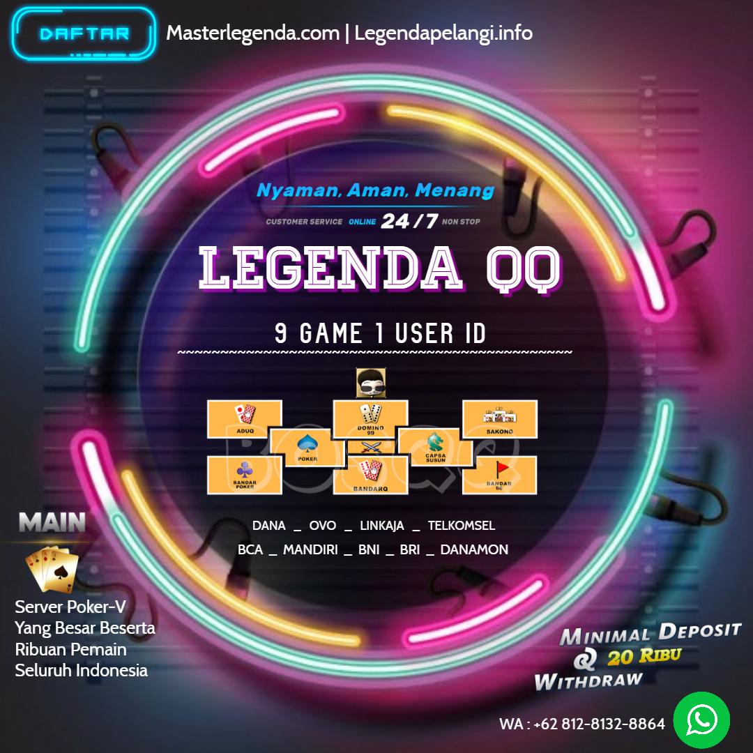 LEGENDA QQ | POKER ONLINE in 2020 | Poker, Bandar, Jukebox