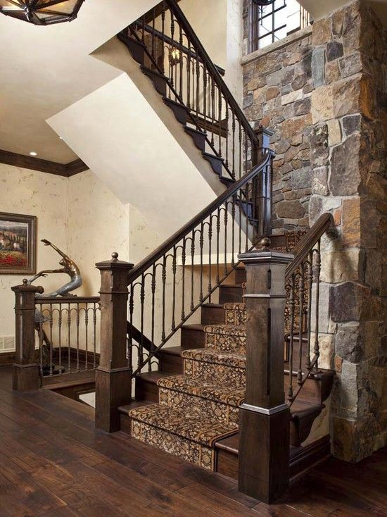Traditional Stair Railing Design Pictures Remodel Decor And