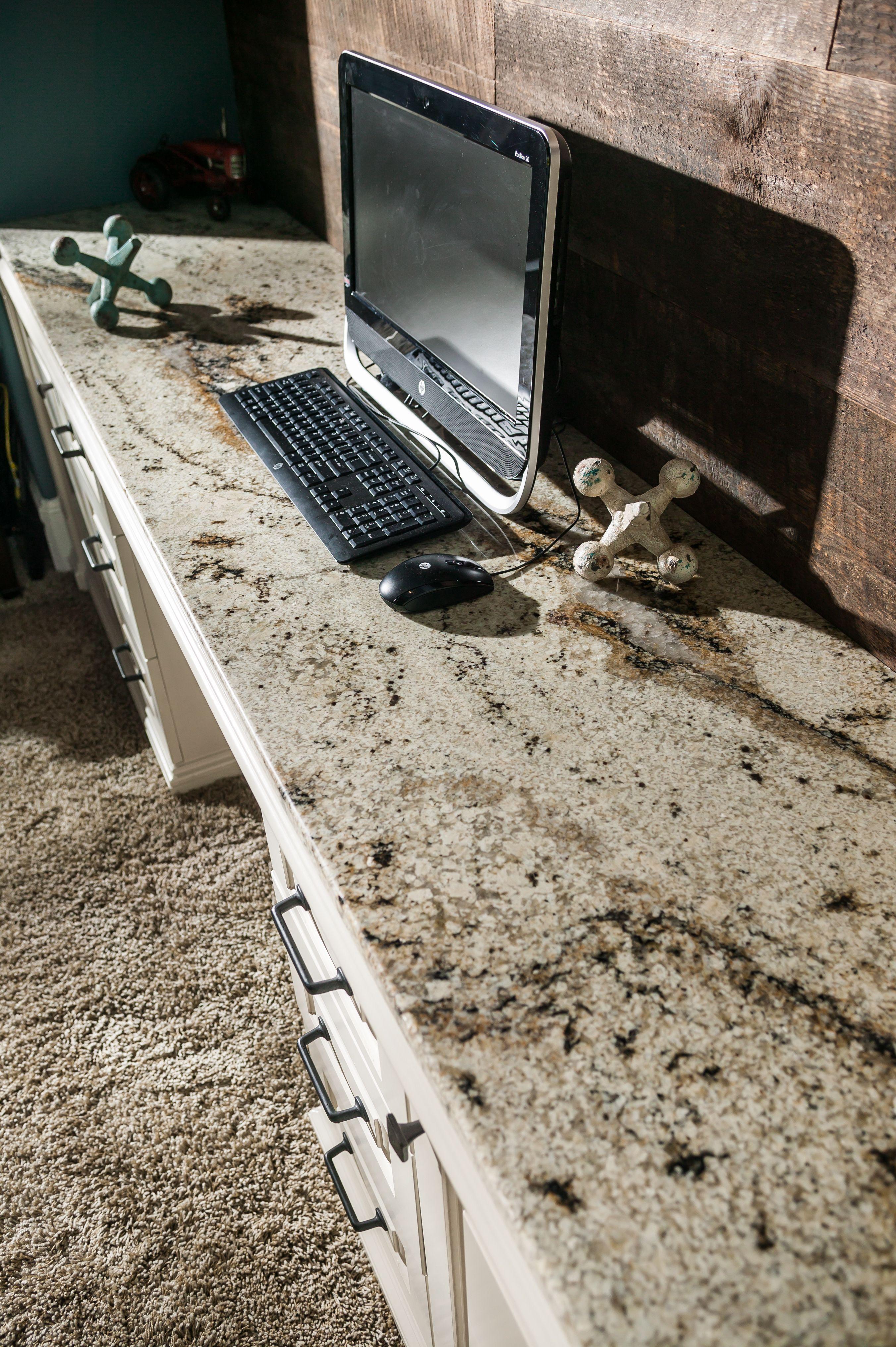Granite Desk In Bedroom Granite Custom Homes Granite Countertops