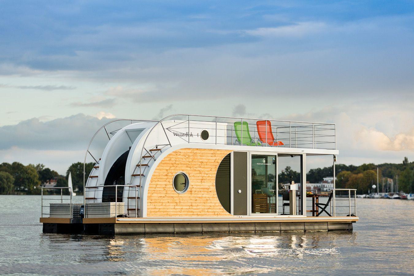 Hausboot kaufen - Nautilus Hausboote - auch Freiheit braucht ein ...