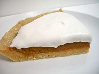 Brooke Bakes : Pumpkin Pie for Special Diets! (gluten-free, dairy-free, vegan)