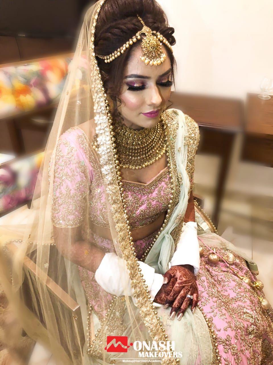 Pin By Devesh On Bride Photoshoot Bridal Hairstyle Indian Wedding Bridal Makeup Bridal Hair And Makeup
