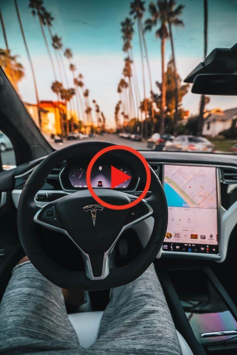 Tesla P100D Cockpit photo by Roberto Nickson on