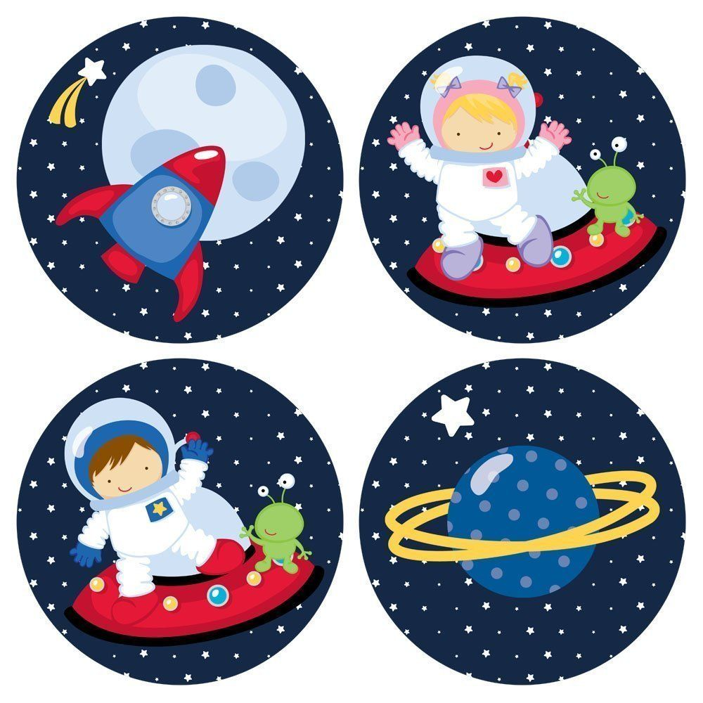 astronaut party printables - 736×736