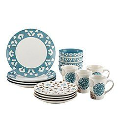 Rachael Ray® Pendulum Stoneware 16-pc. Dinnerware Set + FREE BONUS GIFT see offer details
