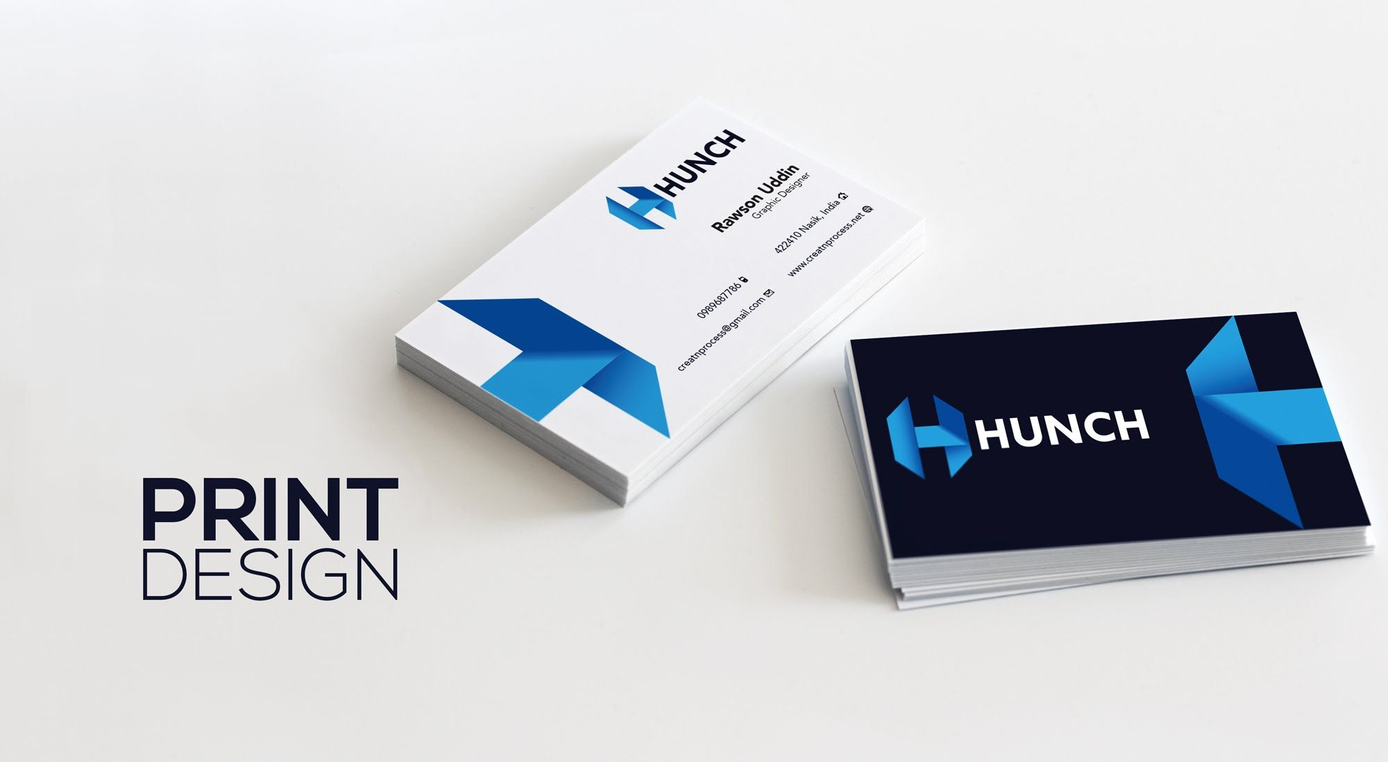 I will design quality and cutting edge print material | Business ...