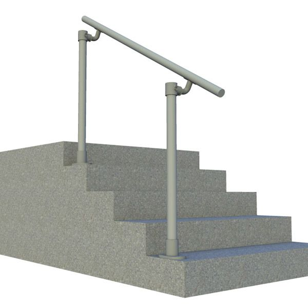 Best Outdoor Metal Stair Railing Kits Simple Handrail 640 x 480