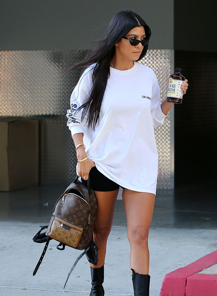 39d7497445d Just Can t Get Enough  Kourtney Kardashian Loves Her Mini Backpacks -  PurseBlog