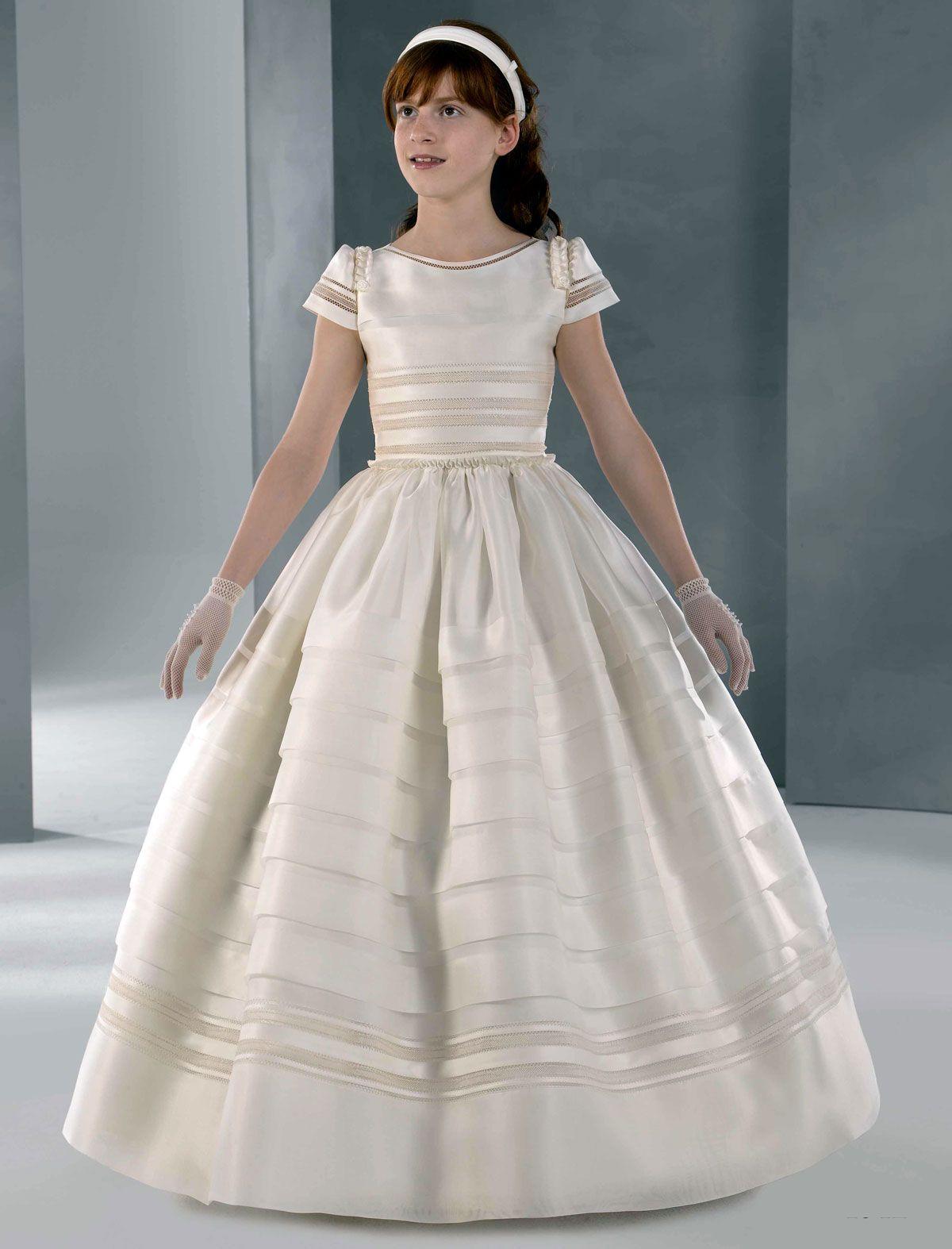 3c780472c56ff Vestidos de fiesta para damas y niñas  Vestidos de comunion ...